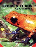 Frogs & Toads as a new pet - by John Coborn
