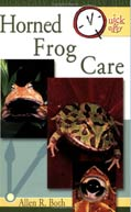 Horned Frog Care - By Allen R. Both